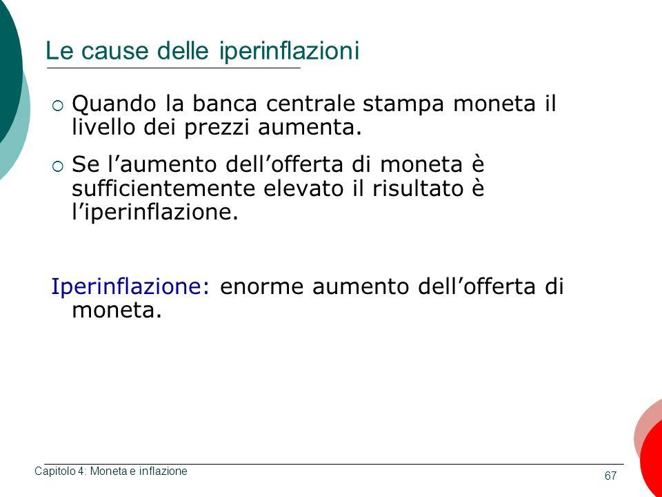 Le cause delle iperinflazioni