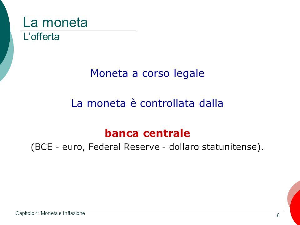 La moneta L'offerta Moneta a corso legale