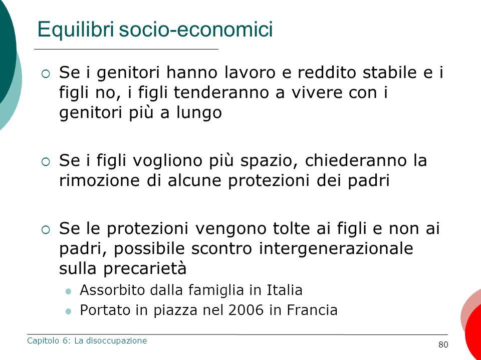 Equilibri socio-economici