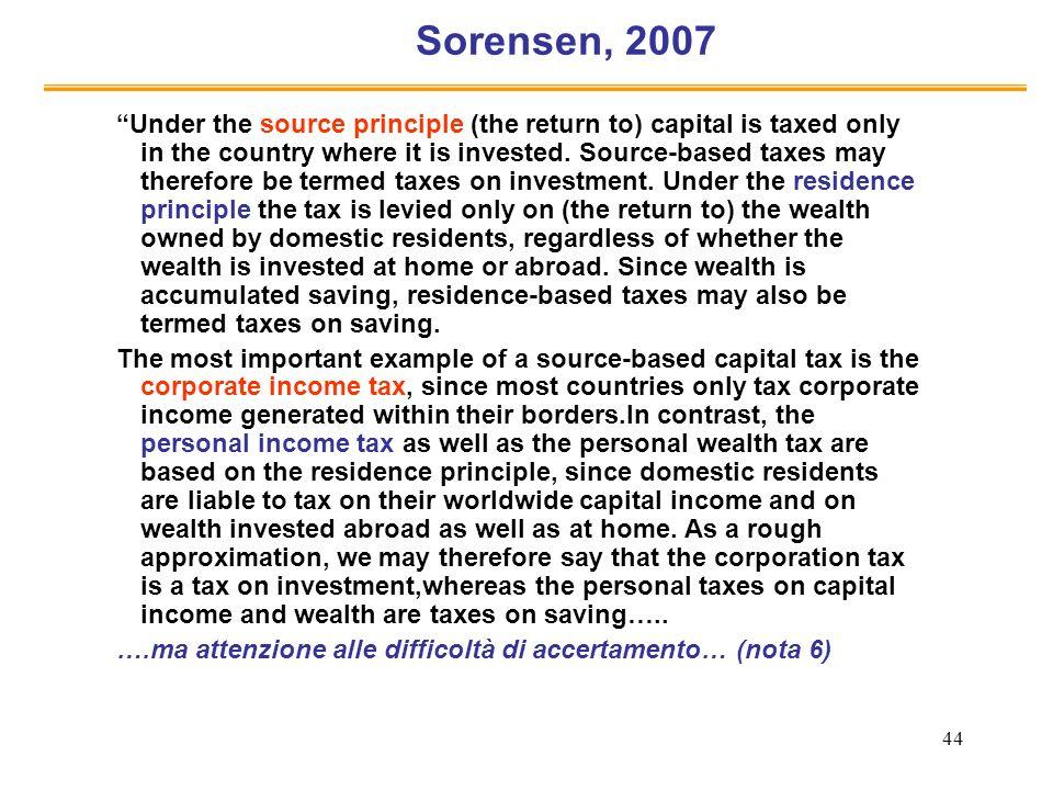 Sorensen, 2007