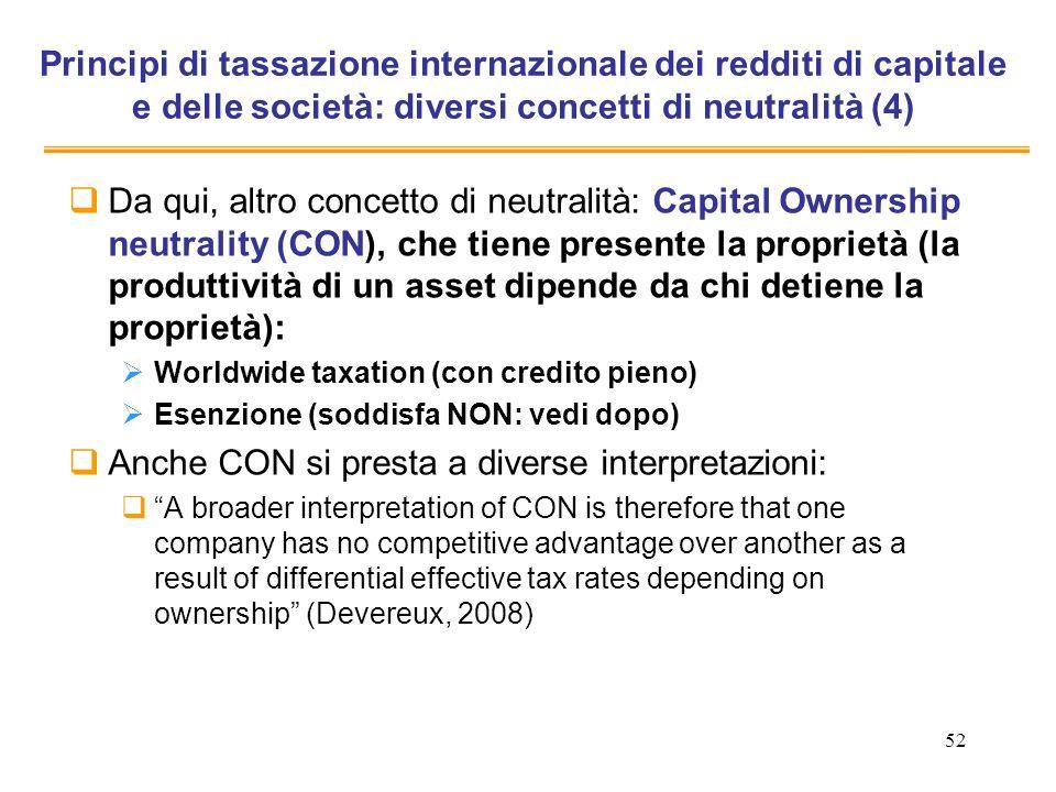 Anche CON si presta a diverse interpretazioni: