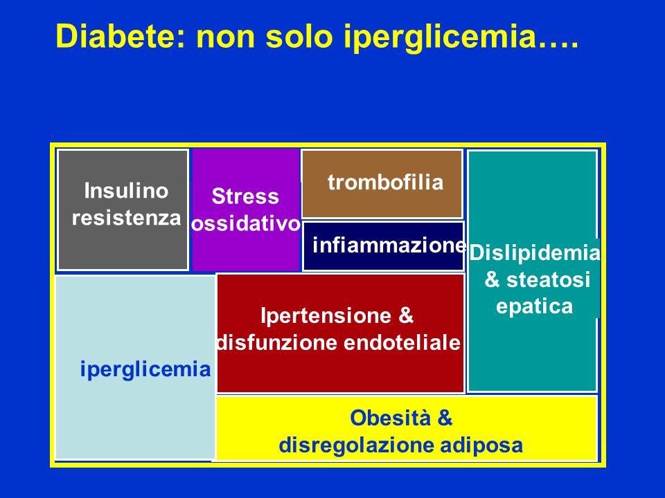 Diabete: non solo iperglicemia….