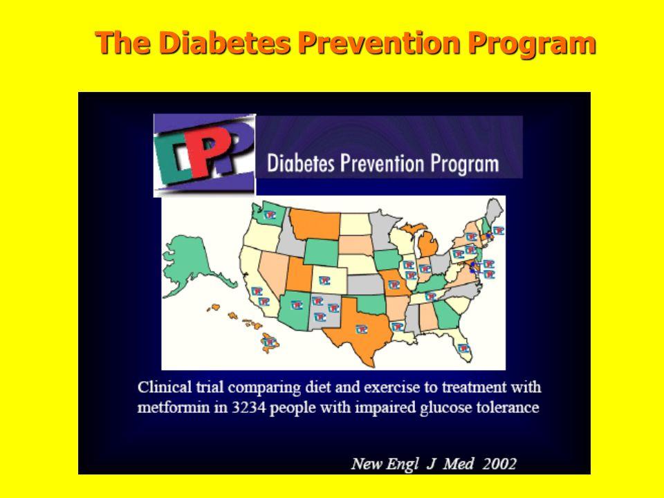 The Diabetes Prevention Program