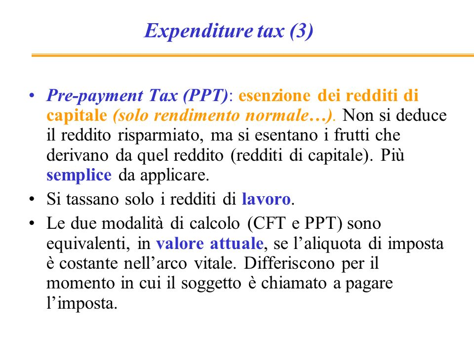 Expenditure tax (3)