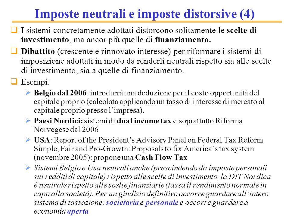 Imposte neutrali e imposte distorsive (4)