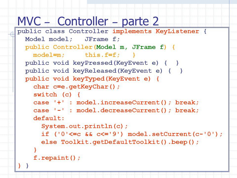 MVC – Controller – parte 2