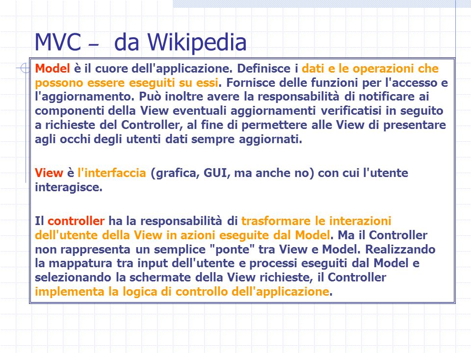 MVC – da Wikipedia