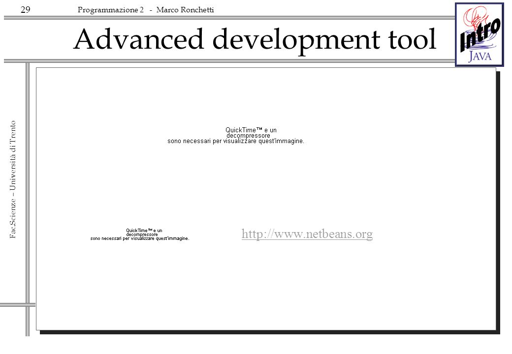 Advanced development tool