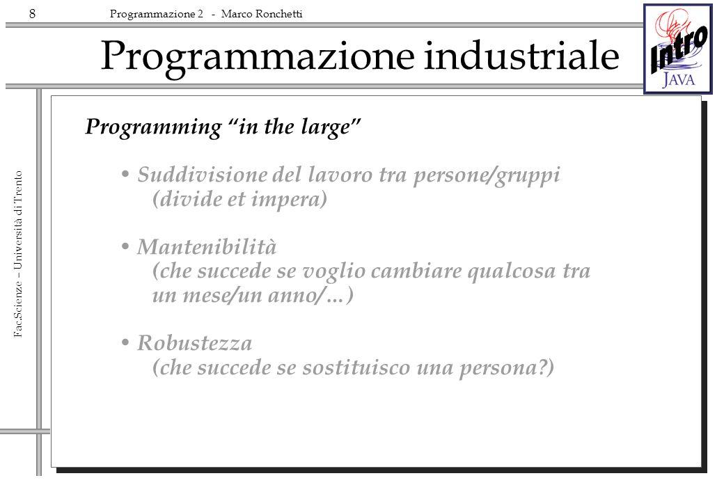 Programmazione industriale