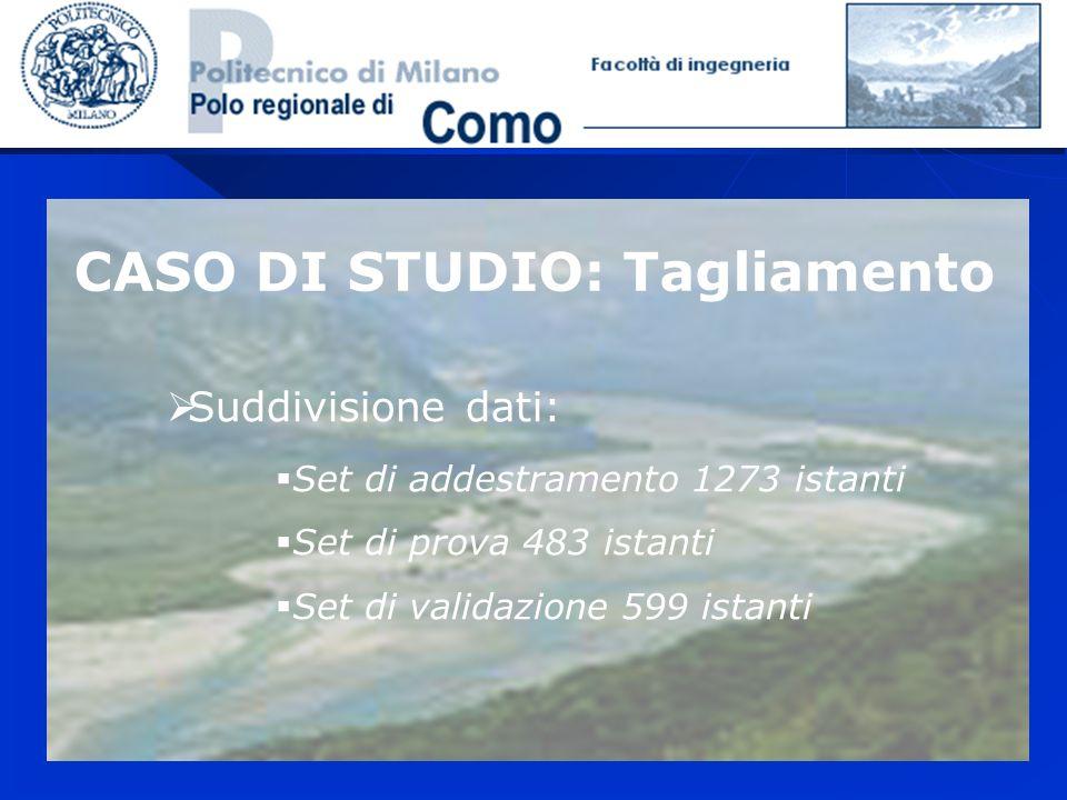CASO DI STUDIO: Tagliamento