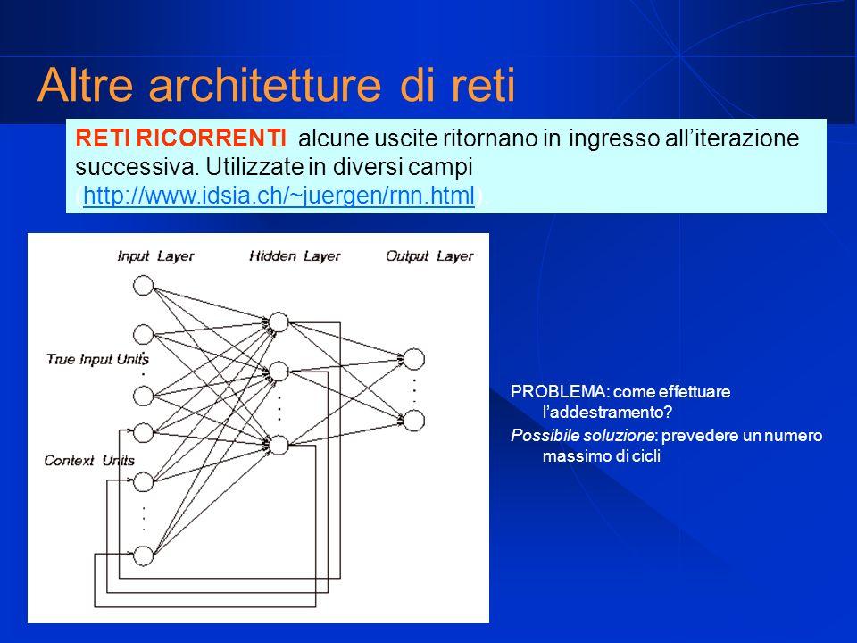 Altre architetture di reti