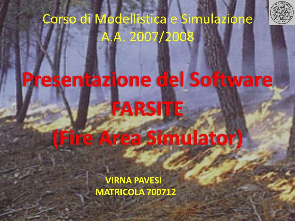 Corso di Modellistica e Simulazione A.A. 2007/2008