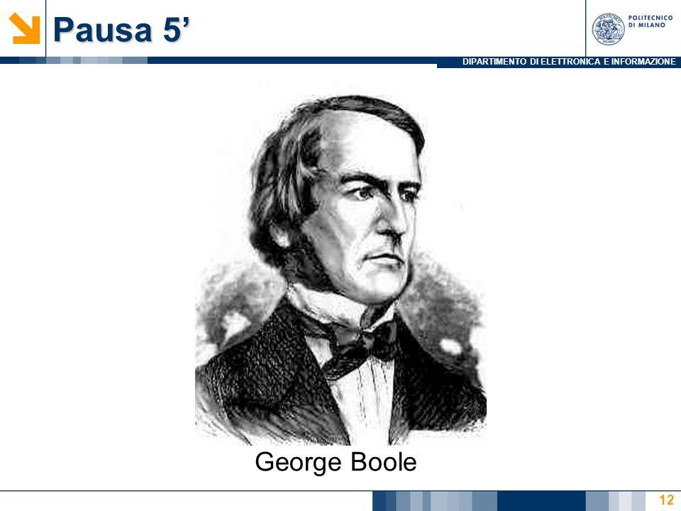 Pausa 5' George Boole