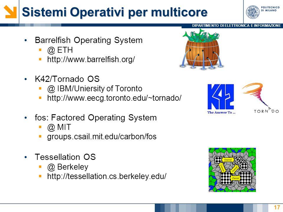 Sistemi Operativi per multicore