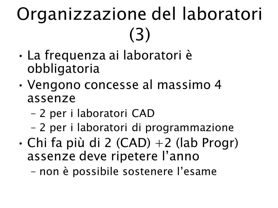 Organizzazione del laboratori (3)