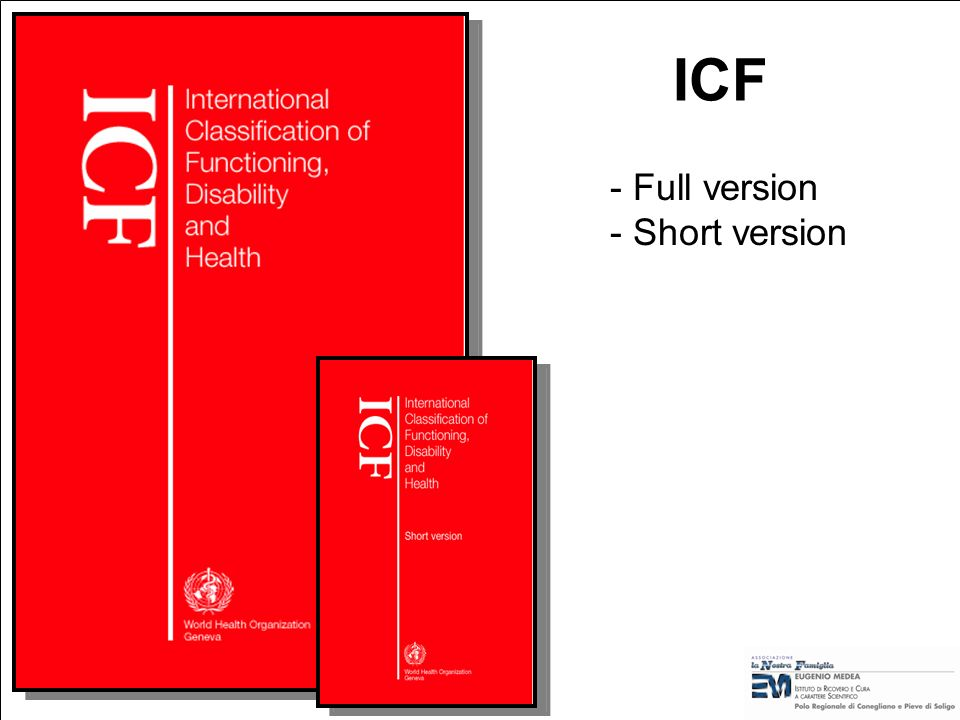 ICF - Short version - Full version