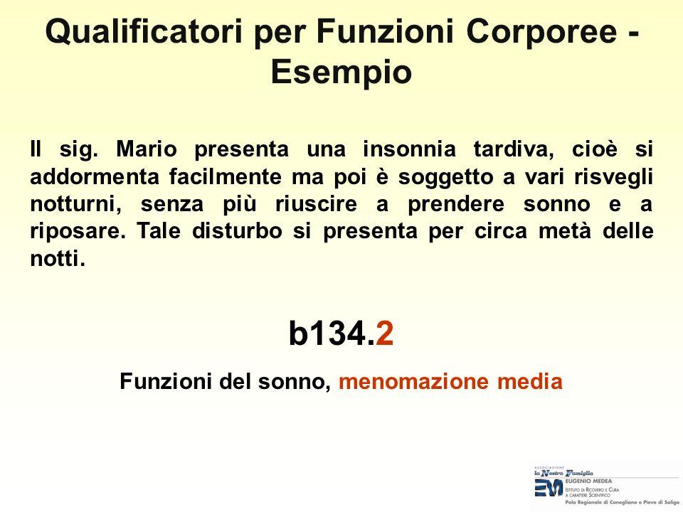 Qualificatori per Funzioni Corporee - Esempio b134.2