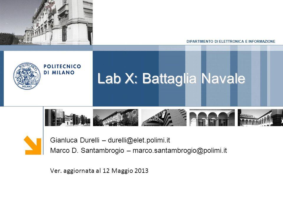 Lab X: Battaglia Navale
