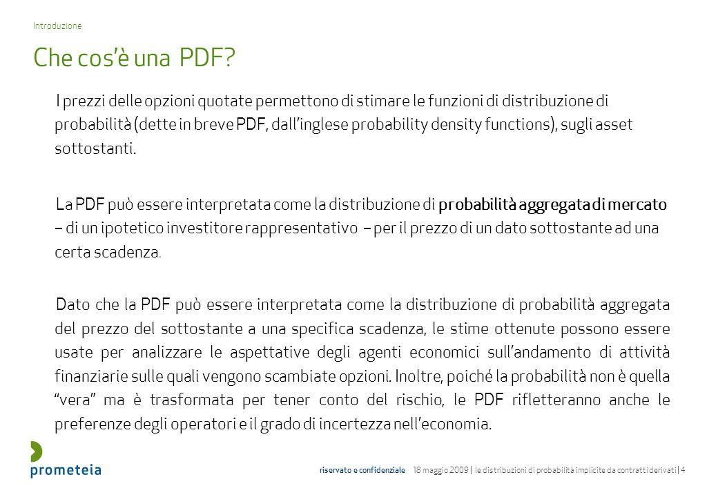 Introduzione Che cos'è una PDF