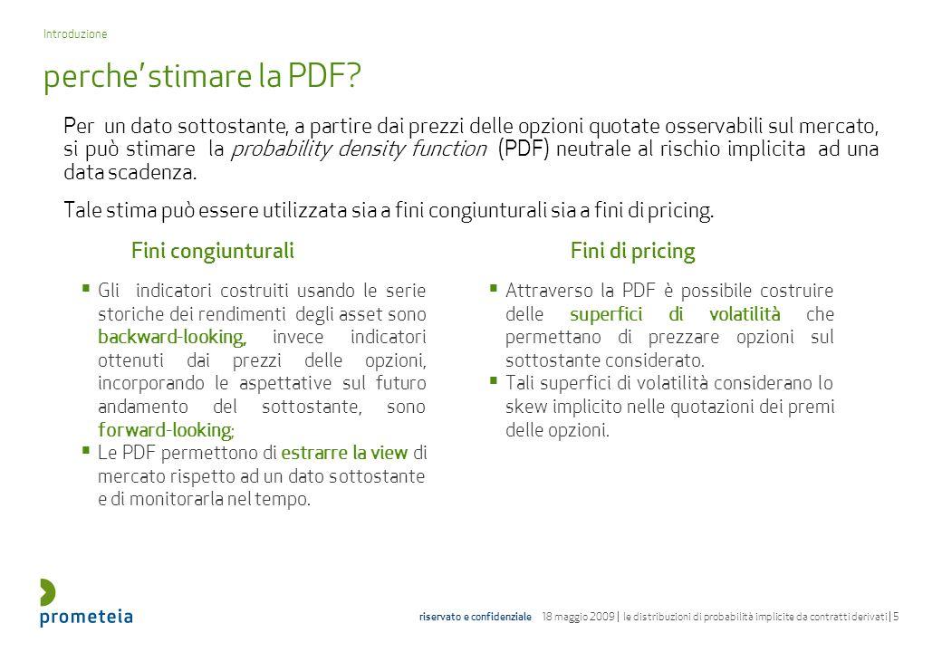 Introduzione perche' stimare la PDF