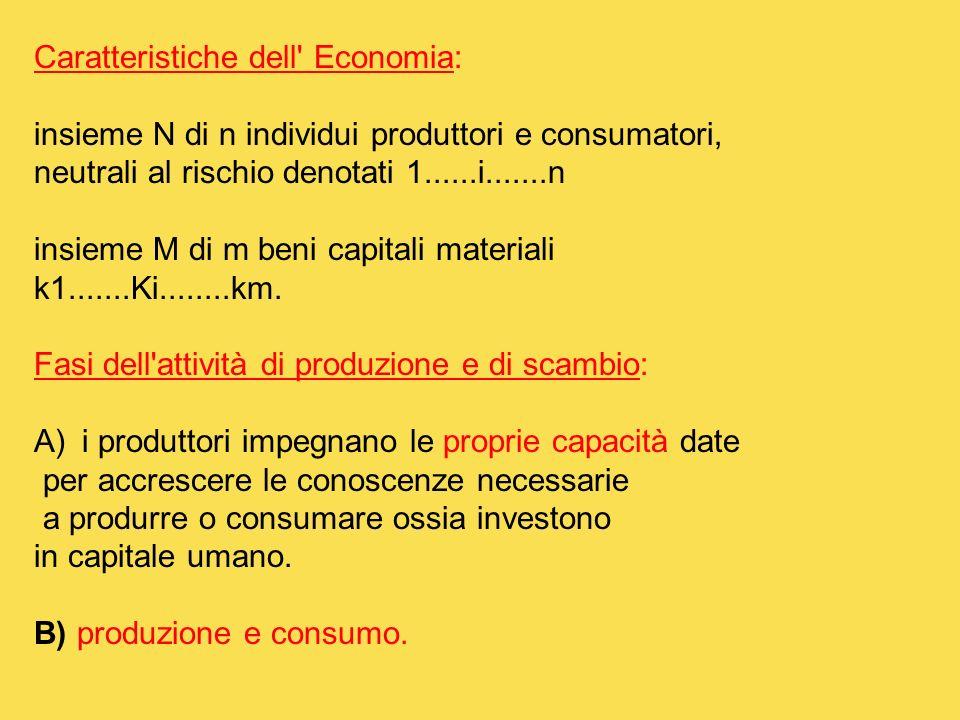 Caratteristiche dell Economia: