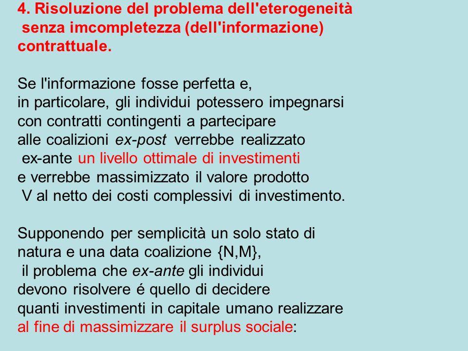 4. Risoluzione del problema dell eterogeneità