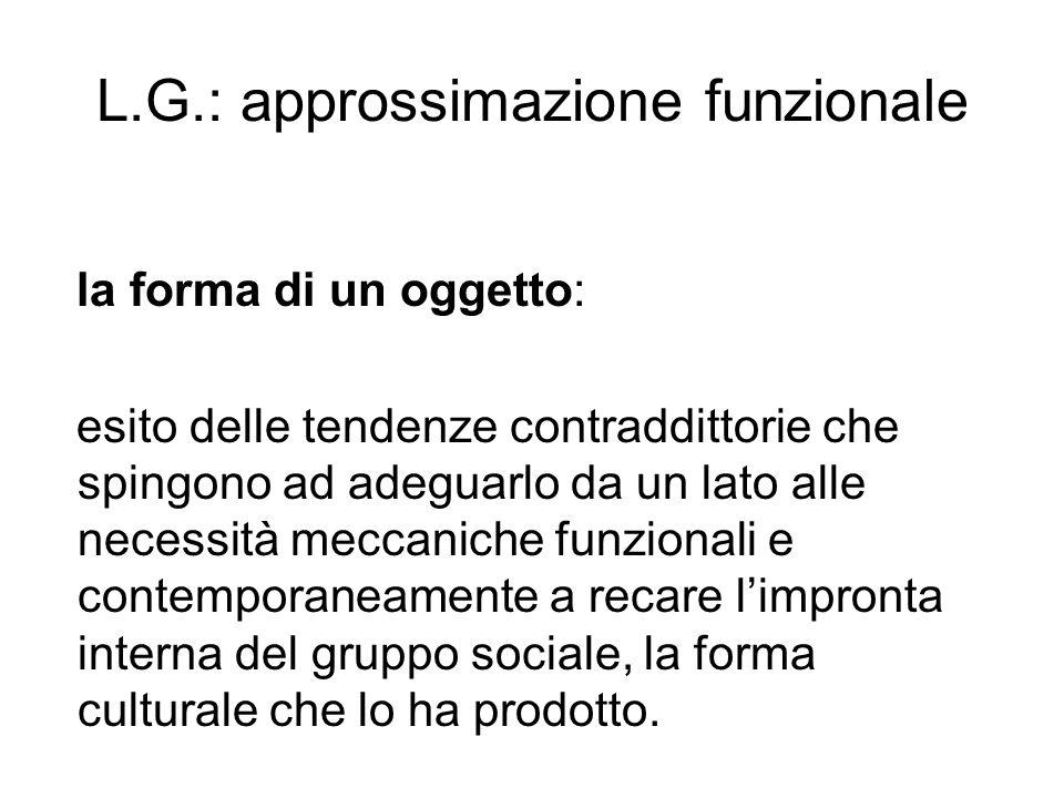 L.G.: approssimazione funzionale