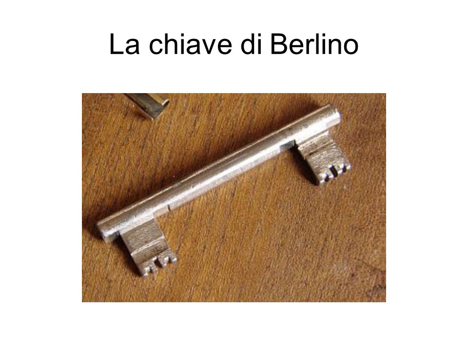 La chiave di Berlino