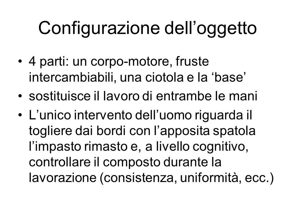 Configurazione dell'oggetto