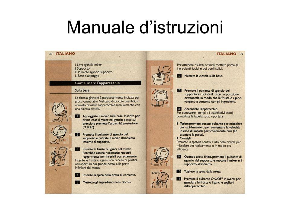 Manuale d'istruzioni