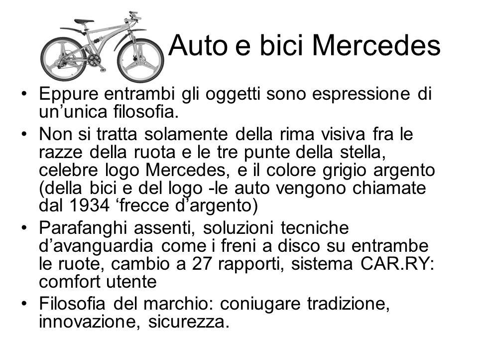 aaaaaaaaAuto e bici Mercedes