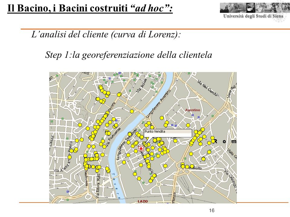 Il Bacino, i Bacini costruiti ad hoc :