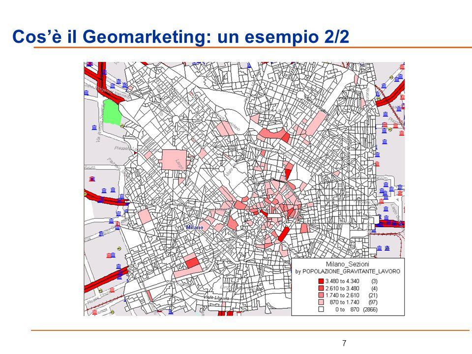 Cos'è il Geomarketing: un esempio 2/2