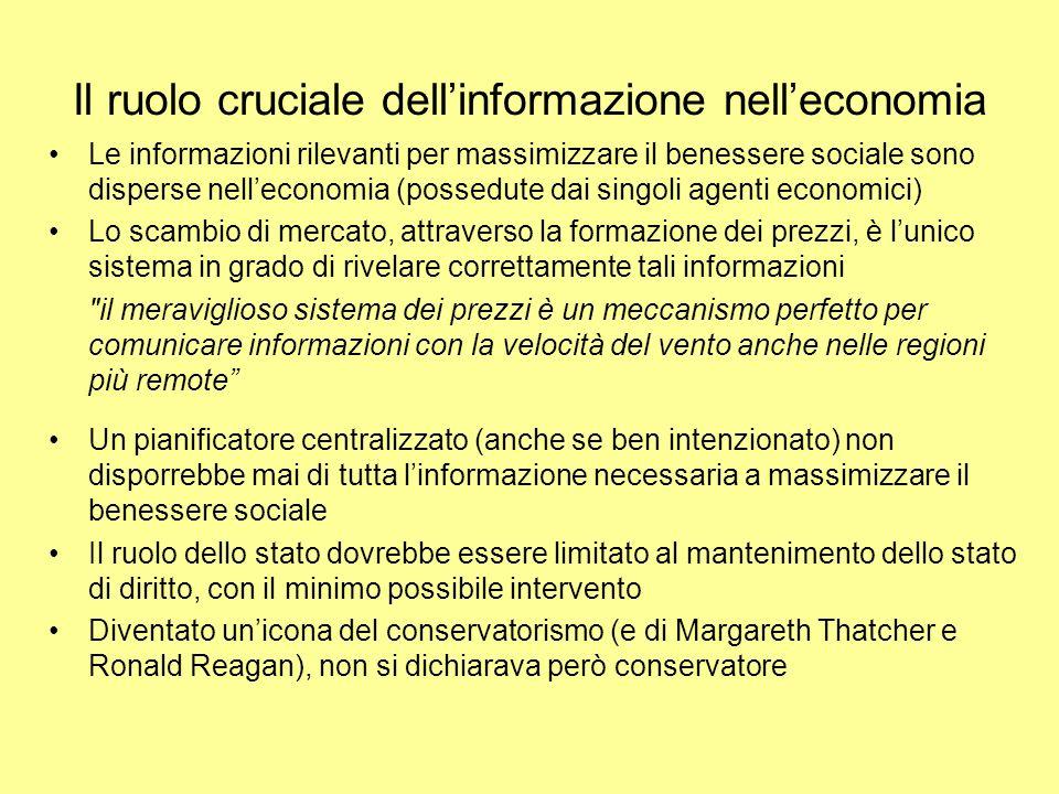 Il ruolo cruciale dell'informazione nell'economia