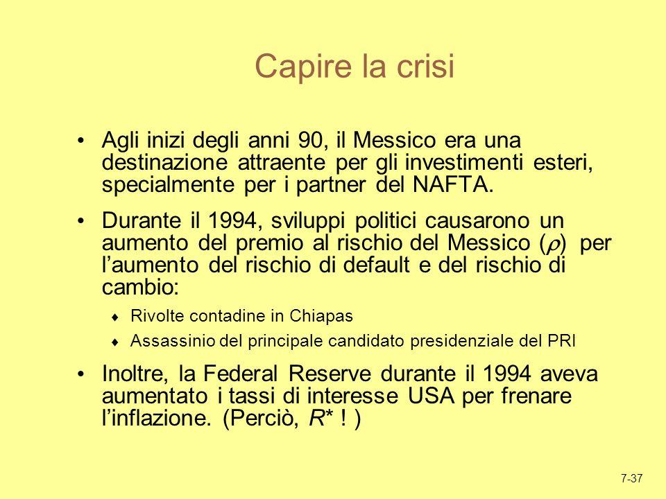 Capire la crisi