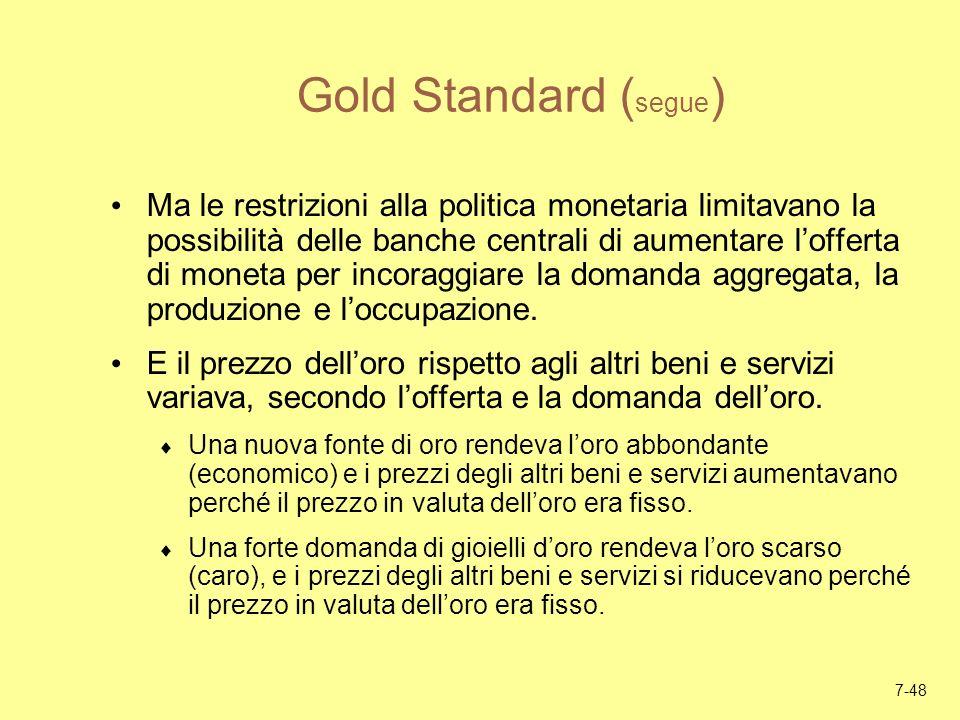 Gold Standard (segue)