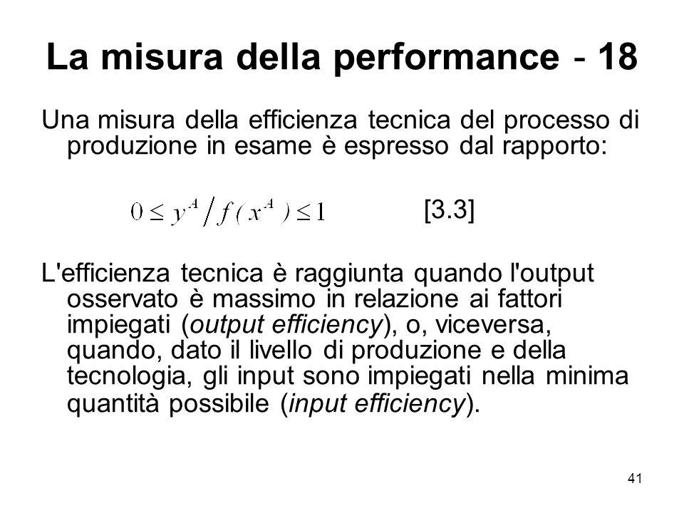 La misura della performance - 18