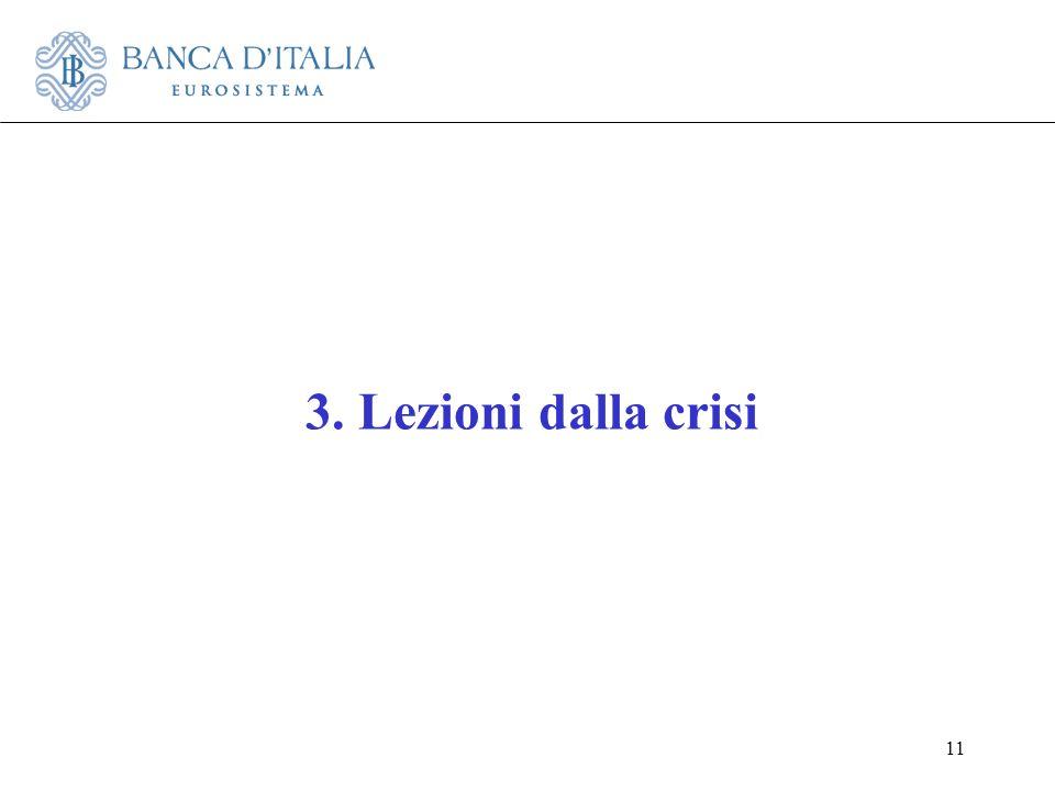 3. Lezioni dalla crisi