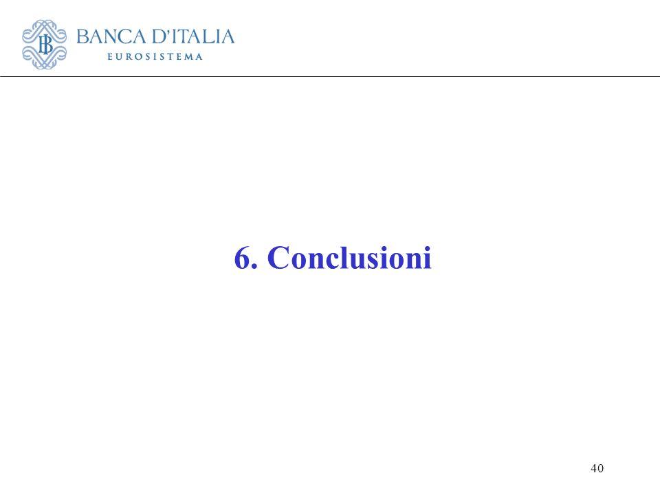 6. Conclusioni 40