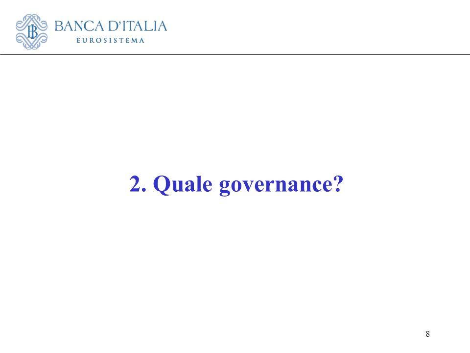 2. Quale governance