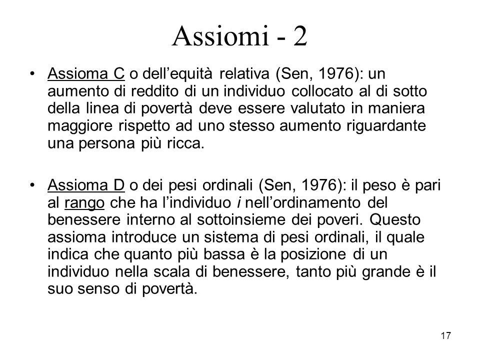 Assiomi - 2