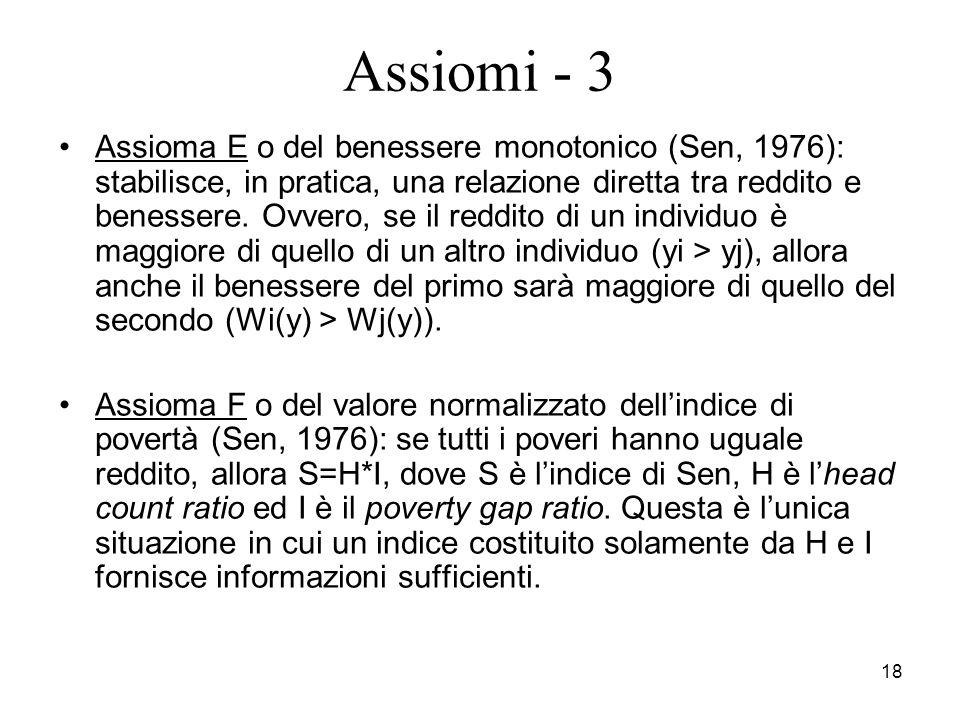 Assiomi - 3