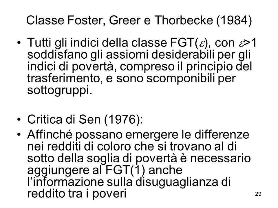 Classe Foster, Greer e Thorbecke (1984)
