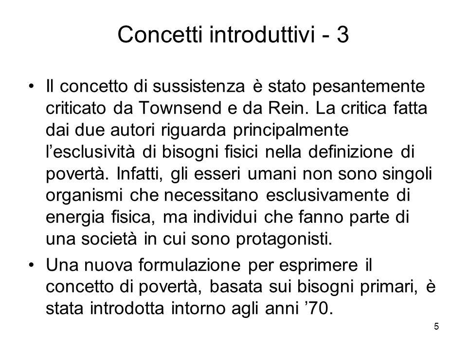 Concetti introduttivi - 3