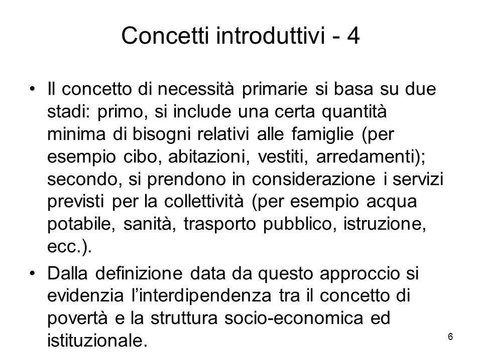 Concetti introduttivi - 4