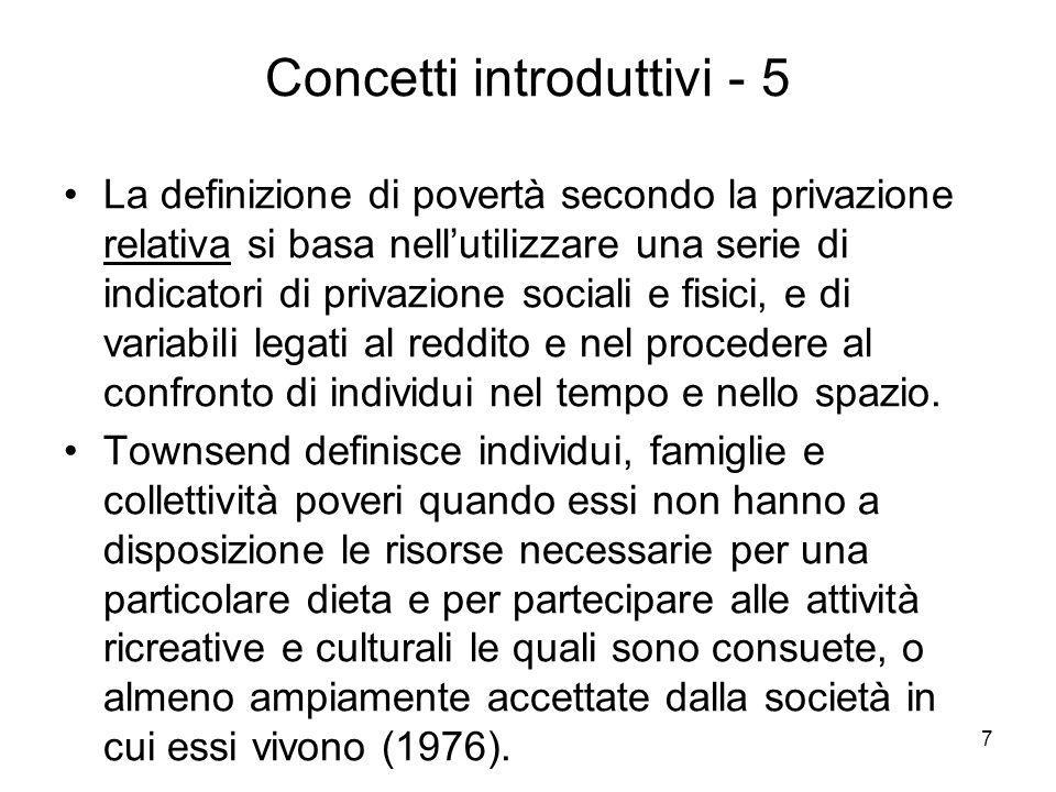 Concetti introduttivi - 5