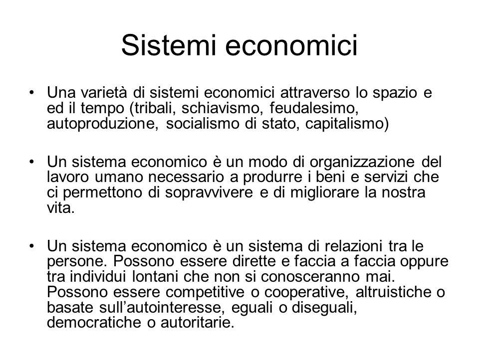 Sistemi economici