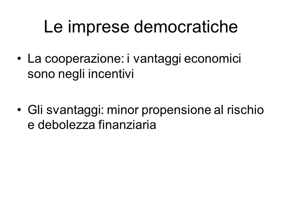 Le imprese democratiche