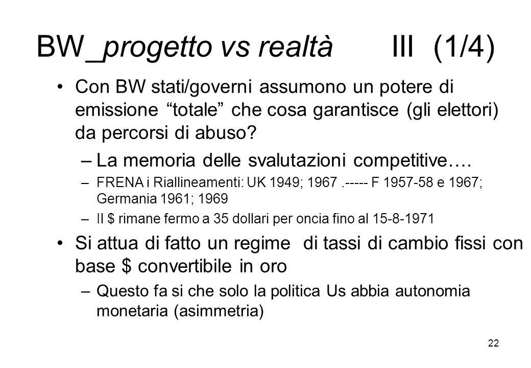 BW_progetto vs realtà III (1/4)