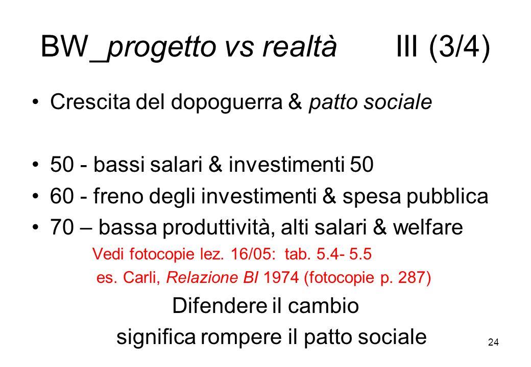 BW_progetto vs realtà III (3/4)
